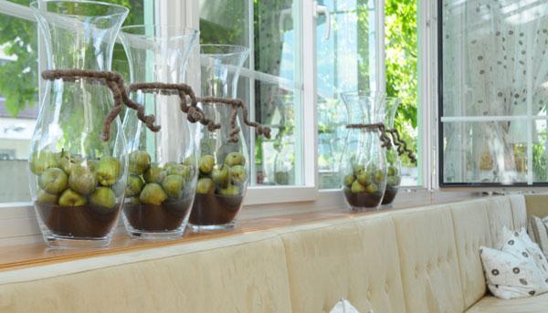 Decorazioni con vetro dekorwelt vasi di vetro ed elementi for Decorazione vasi
