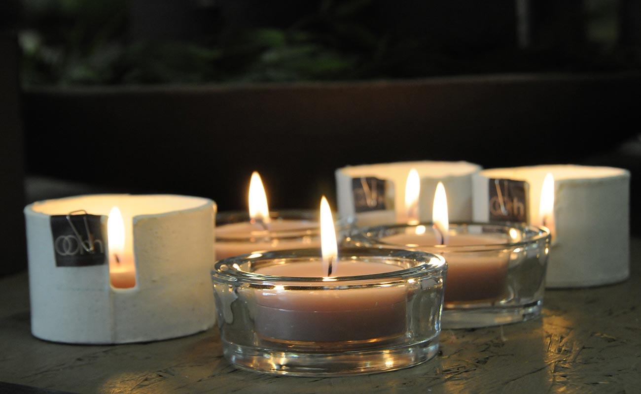 Beautiful decorazione con candele elementi decorativi for Vasi decorativi da interno