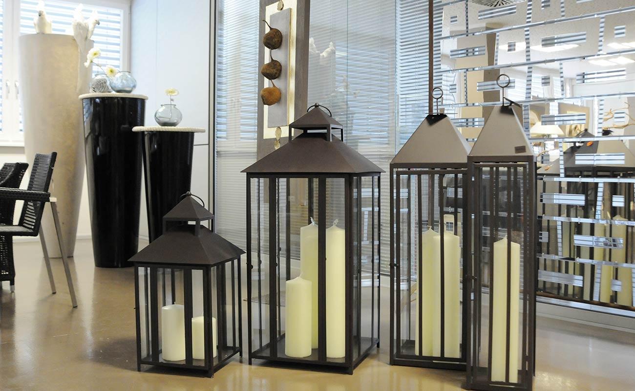 laternen windlichter deko ideen mit stimmung. Black Bedroom Furniture Sets. Home Design Ideas